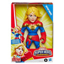 Marvel 10 Inches Super Hero Adventures Captain Action Figure Mega Mighties, Multicolor