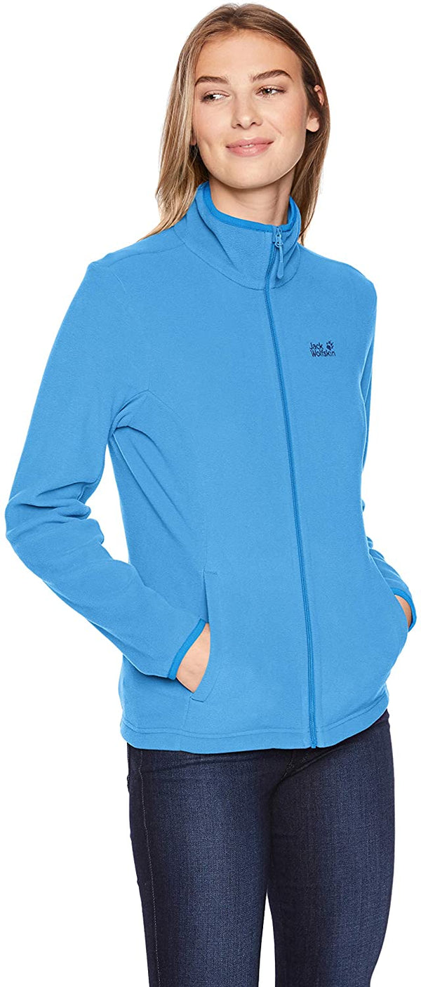 Jack Wolfskin Echo Jacket for Women, Made from Recycled Material, XX-Large, Zircon Blue