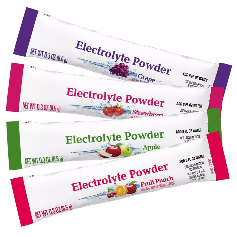 Up&Up Pediatric Electrolyte Powder Multi-flavor Great Taste Variety Pack with Multi Minerals, 2.4 Ounces