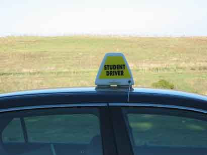4 Sided Magnetic Car Top Sign - Item #81
