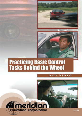 Practicing Basic Control Tasks Behind the Wheel - Item #335