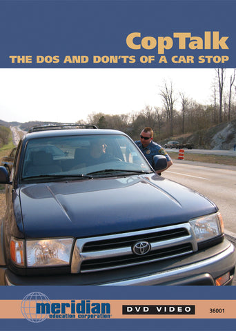 "Cop Talk ""Do's & Don'ts of a Traffic Stop"" - Item #350"