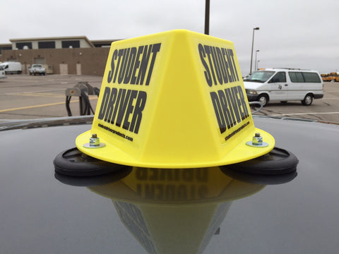 3 Sided Magnetic Car Top Hat - Item #57 or Item #138