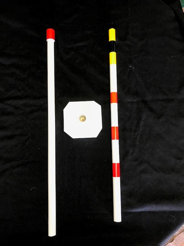 60 inch Reflective PVC Pole - Item #90