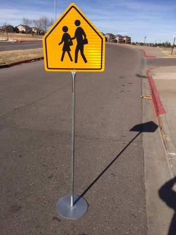 Portable School Crossing Sign - ITEM #167