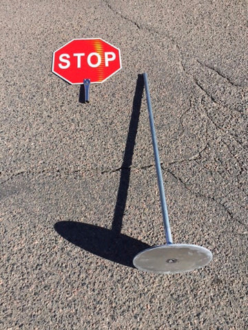 Portable Stop Sign - ITEM # 164