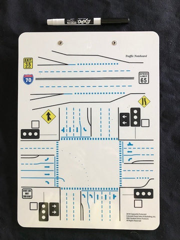 TRAFFIC NOTEBOARD Item# 180