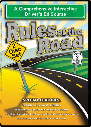 Rules of the Road Instructional Video - Item #61