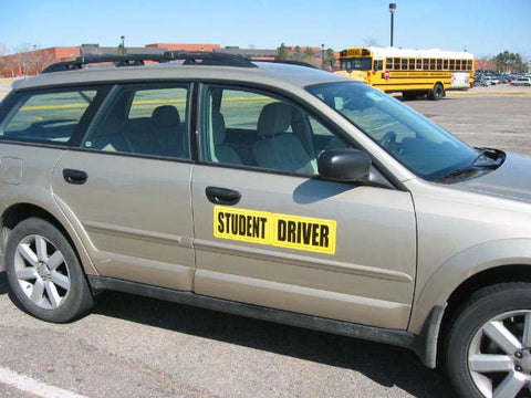 XL Student Driver Door Magnets - Item #83