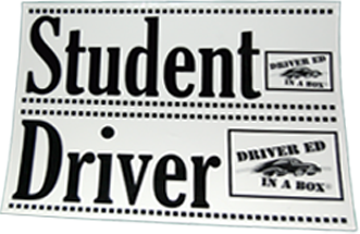 Driver Ed In A Box - Item# 134 or #136
