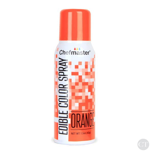Edible Color Spray - Orange