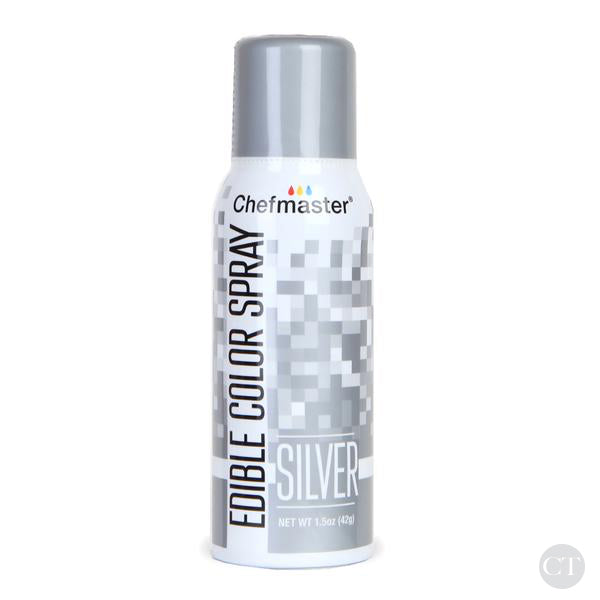 Edible Color Spray - Silver