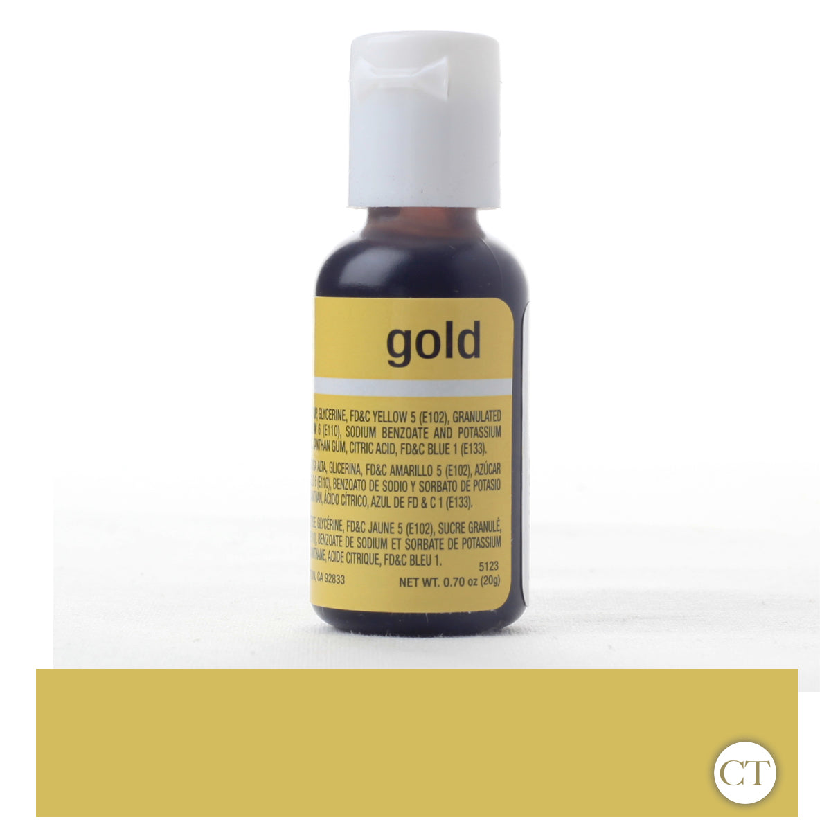 Gold Liqua-Gel Food Color