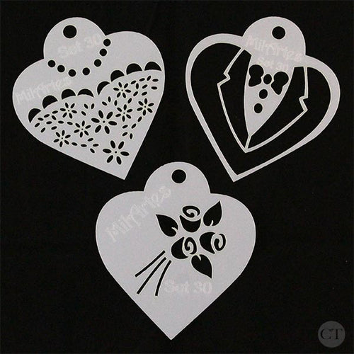 Wedding Stencil Set