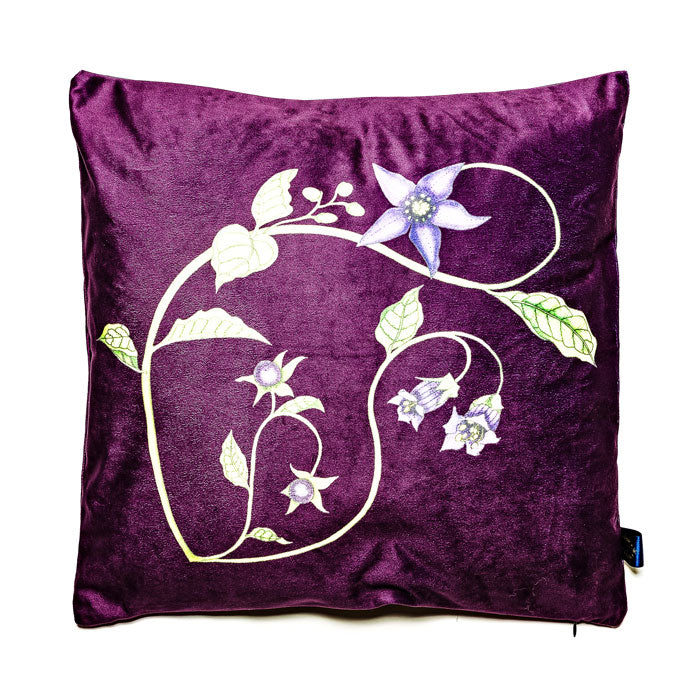 Belladonna Velvet Cushion