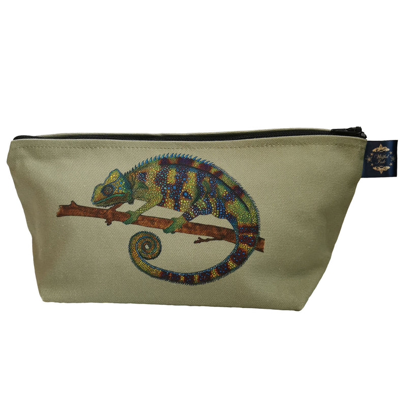 Green Chameleon Cosmetic Bag