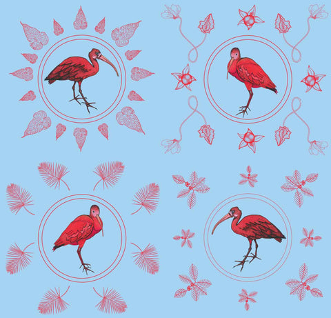 Scarlet Ibis Wallpaper Sample
