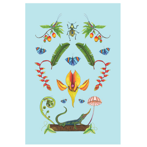 Rainforest Tea Towel