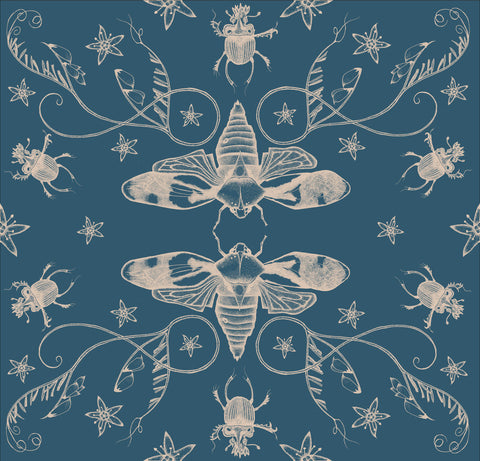 Cicadas Reflection Wallpaper Sample