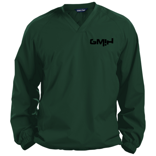 GMIH Solid V-Neck Windshirt