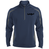 GMIH Men's Sport Wicking Colorblock 1/2 Zip