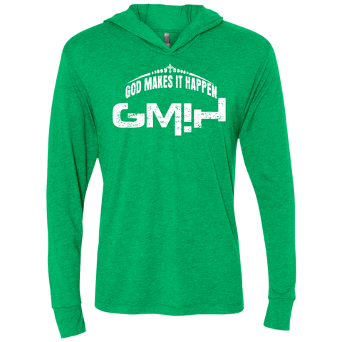 GMIH Unisex Triblend LS Hooded T-Shirt