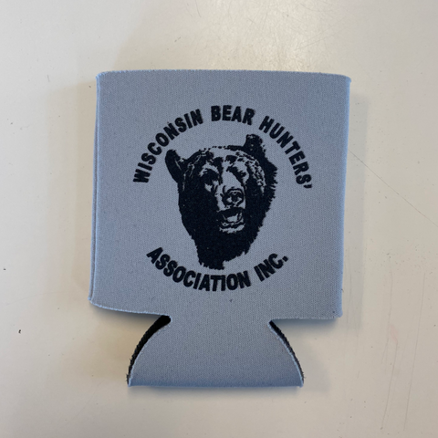 Can Coozie with Black Bear Logo