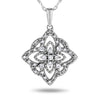 10k White Gold Diamond Necklace/Pendants