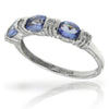 14k White Gold Tanzanite Rings