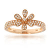 14k Rose Gold Diamond Rings
