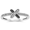 10k White Gold Diamond Rings