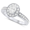 18k White Gold Diamond Rings