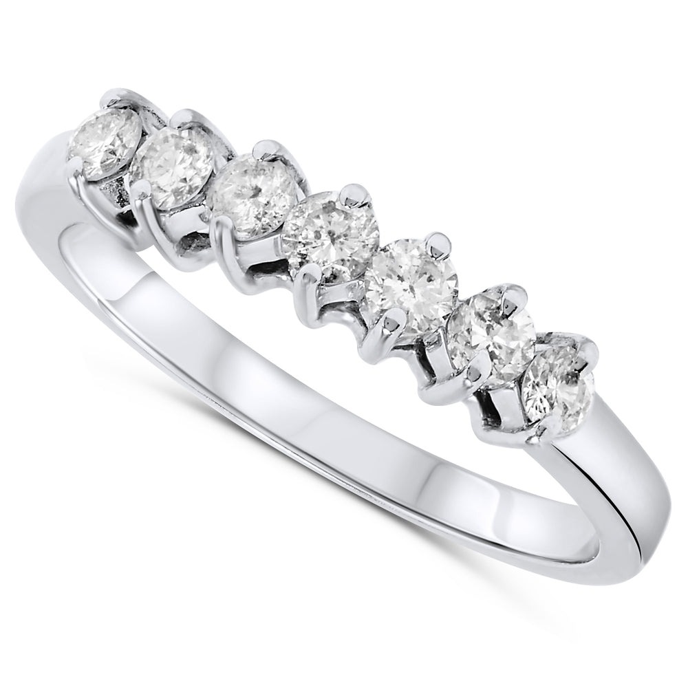 14k White Gold Diamond Rings