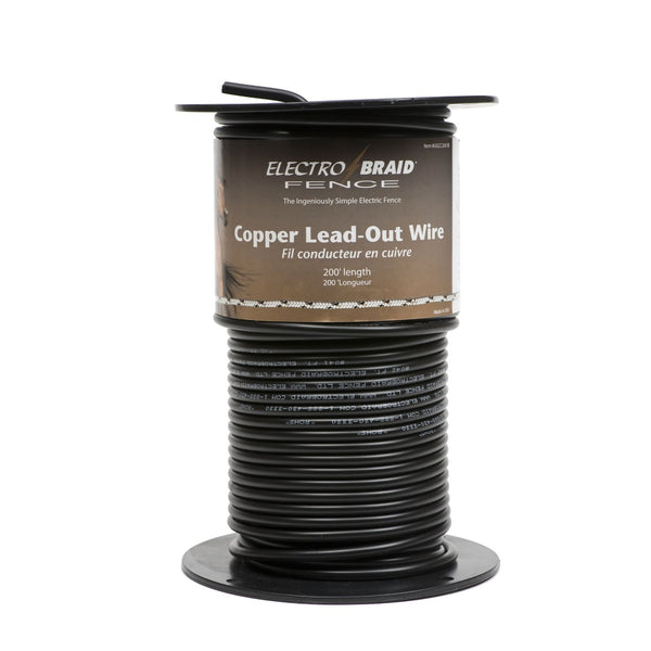 Copper Lead Out Wire