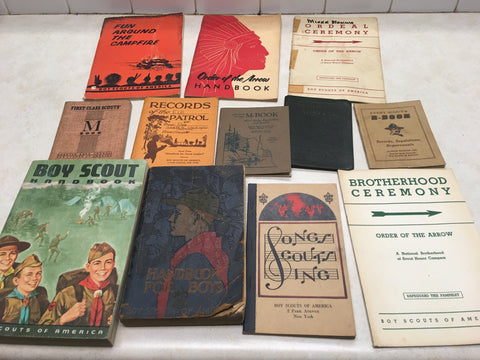 Boy Scout Books & Paper Items