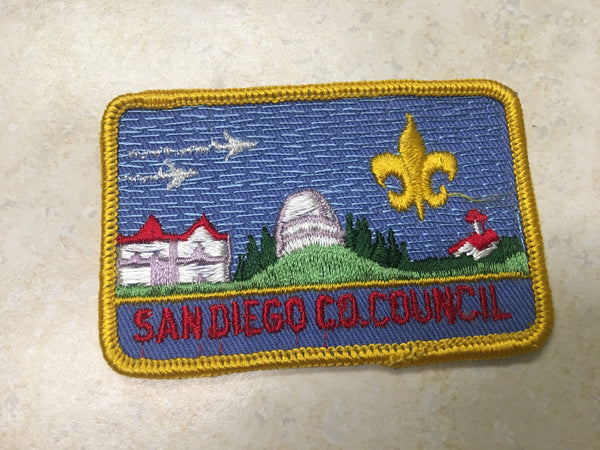 San Diego County Council Patch
