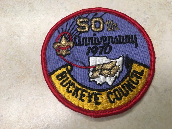 Buckeye 50th Anniversary Council Patch