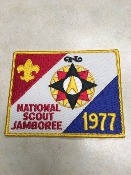 1977 National Jamboree Jacket Patch