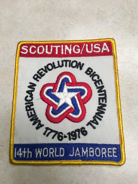 1976 World Jamboree US Contingent Jacket Patch