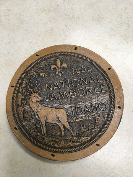 1969 National Jamboree Leather Jacket Patch