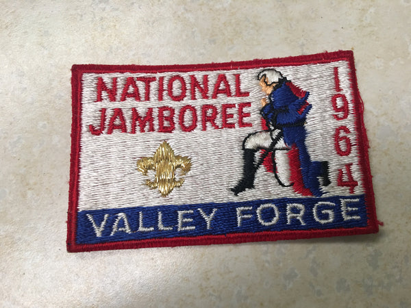 1964 National Jamboree Cloth Pocket Patch