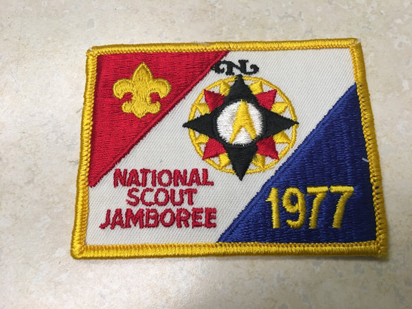 1977 National Jamboree Pocket Patch