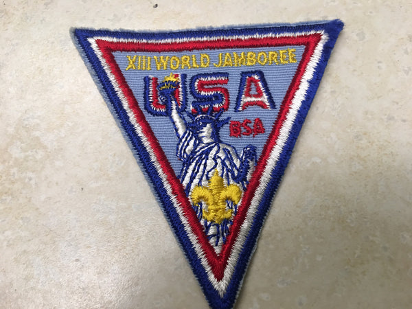 1971 World Jamboree US Contingent Pocket Patch
