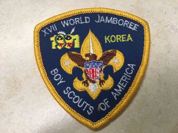 1991 World Jamboree US Contingent Pocket Patch