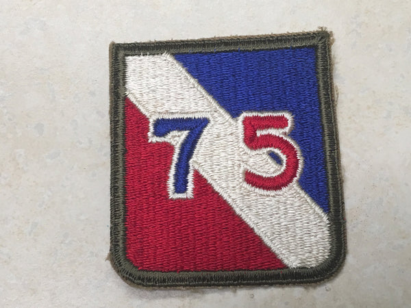 75th Division Shoulder Patch