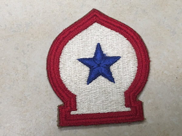 North AfricanTheater Shoulder Patch - White Back