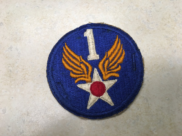 WW2 1st Air Force Shoulder Patch