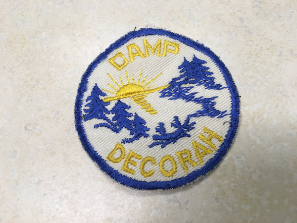 Camp Decorah Cut Edge Twill Camp Patch