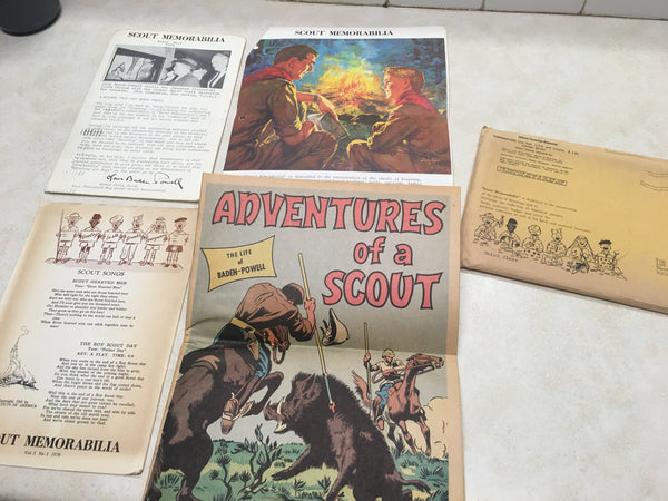 "2 Issues of ""Scout Memorabilia"" Magazine from 1970"