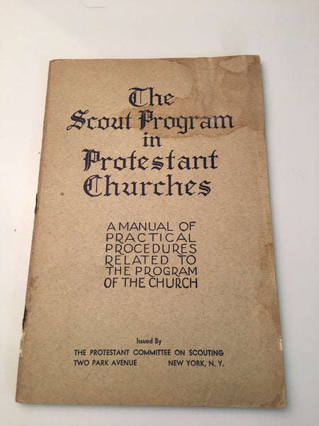 The Scout Program in Protestant Churches